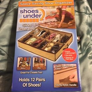 New Shoe Storing Slide Under Bed Shoe Organizers